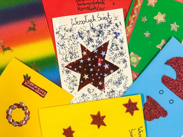 kartki świąteczne z domu dziecka